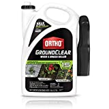 Ortho 4613905 GroundClear Weed and Grass Killer: Ready-to-Use, with Sprayer, Starts Working Immediately, See Results in 15 Minutes, 1 gal