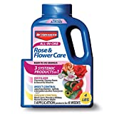 BioAdvanced 043929293566 Bayer Advanced 701110A All in One Rose and Flower Care Granules, 4-Pou, 4-Pound, Assorted