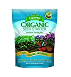 Espoma Seed Starter Potting Mix, Natural & Organic Premium Potting Mix for Seedlings and Cuttings, 8 qt, Pack of 2