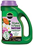 Miracle-Gro Plant Food 3002210 Shake 'N Feed Rose and Bloom Continuous Release Pl, 4.5 lb
