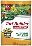 Scotts Turf Builder WinterGuard Fall Weed & Feed 3: Covers up to 5,000 sq. ft., Fertilizer, 14 lbs., Not Available in FL