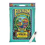 FoxFarm Ocean Forest Potting Soil Mix Indoor Outdoor for Garden and Plants | Plant Fertilizer | 12 Quart + THCity Stake